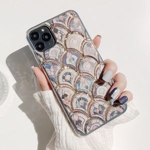 🆕 Sparkling Flow Glitter Mermaid iPhone Case